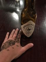 Pre-wedding henna